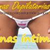 Crema depilatoria zonas íntimas