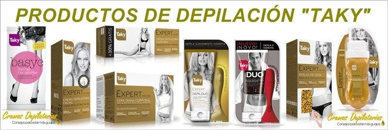 Gama de productos de DEPILACIÓN TAKY