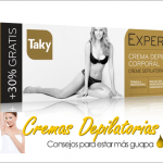 Cremas depilatorias Taky
