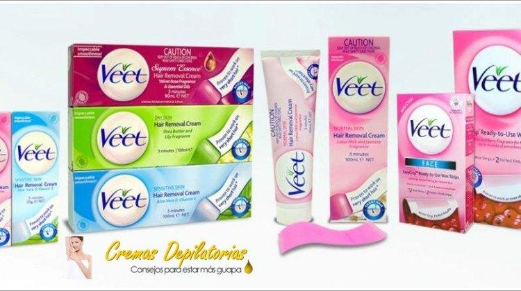 crema depilatoria Veet