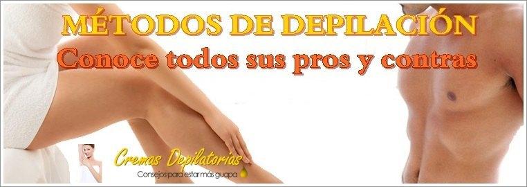 ventajas e inconvenientes de los métodos de depilación