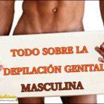 Cómo depilar los genitales masculinos