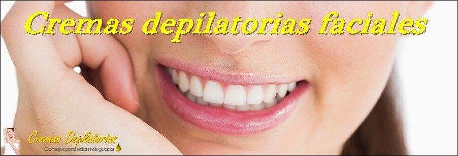 cremas depilatorias faciales para vello del bigote y las cejas